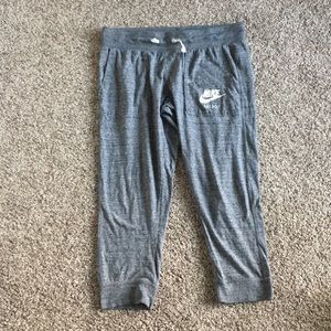 Nike Capri sweatpants, light weight.